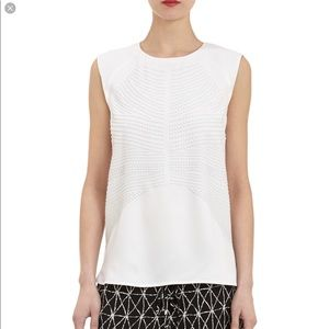 A.L.C. Women's Studded Crepe Sleeveless Top